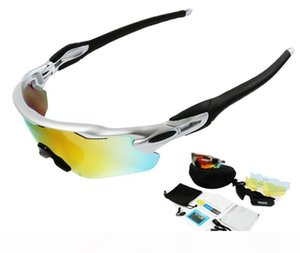 Радар унисекс Спорт на открытом воздухе поляризационные очки с 5шт объективом сменные лыжные очки горный велосипед очки Солнцезащитные очки JP917