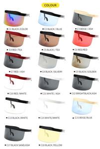 Europa - American fashion all-in-one big frame sunshade óculos de sol à prova de areia Big mask electric car vidros para-brisas protecção dos olhos integri