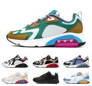 Nike Air Max 200 Trainers Designer Tênis Para Homens airmax Lifestyle Descalço Oreo Preto Branco Vermelho Mulheres Jogging Tênis Ultraboost Runner Shoes