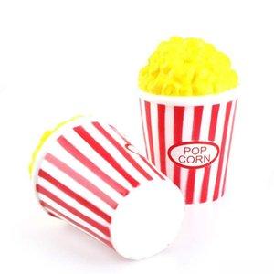 13cm Red Popcorn Kawaii Squishy Jumbo Rising lente Odeur agréable Squishies Pincez Stress Relief Pâques Téléphone Straps Adultes Enfants