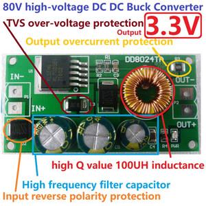 Haute tension ebike convertisseur CC-CC Buck abaisseur Régulateur Module 80V 72V 64V 60V 48V 36V 24V à 3.3V