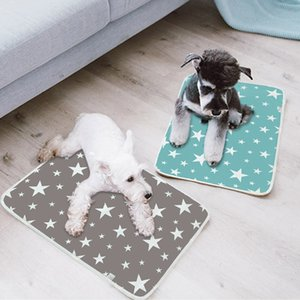 Urine Absorbent Environment Protect Diaper Mat Waterproof Reusable Training Pad Dog Car Seat Cover Washable Dog Pet Diaper Mat