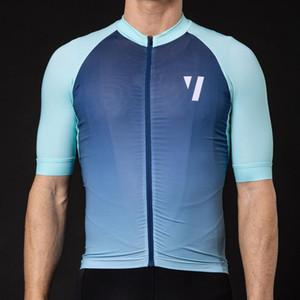 2019 Pro Takım GEÇERSİZDİR Yaz Erkek Short Sleeve Bisiklet Jersey MTB Yol Bisikleti İtalya Silikon Olmayan kayma ile Giyim Kollu Tops