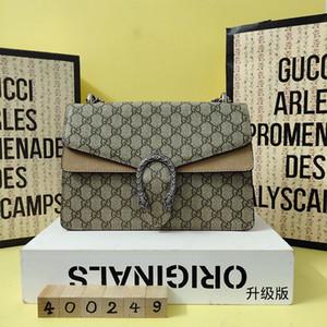 크리스마스 판매 2020 레이디 사선 사첼 여름 핸드백 인쇄 박카스 패키지 단일 패션 여성의 어깨 패키지 작은 사각형 패키지