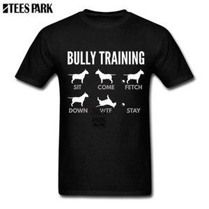 Men Nice Shirts 영어 불 테리어 불릿 훈련 Dog T Shirt 하라주쿠 Tshirt Crazy Junior 유머러스 한 T 셔츠 Super Hero