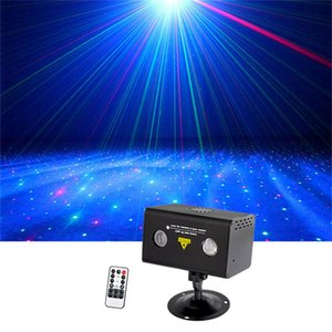 Sharelife Mini Red Green Hypnotic Aurora DJ Remote Control Laser Light Mixed RGB LED Home Gig Party Show Stage Lighting LL-100RG