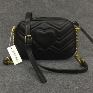Moda 21CM Mini Piccolo GG Marmont Pack Square catena della spalla Crossbody Bag pacchetto di frizione delle donne Borse del progettista del raccoglitore