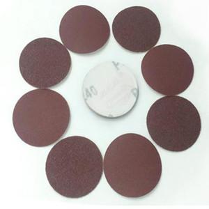 WHISM 3 인치 Sanding Paper 알루미늄 산화물 연마 패드 연삭 디스크 Sandpaper Polisher Mat 40-2000 모래 주머니 용 연마재 연마재
