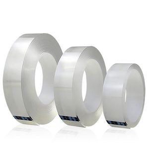 Multifunktionales doppelseitiges Klebeband Nano Transparent No Trace Acryl Magic Tape Reinigbares, wiederverwendbares wasserdichtes Klebeband