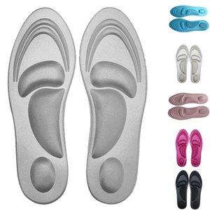 4D High Heel respiráveis Shoes Pad Sports Esponja sapatos palmilhas Memória espuma palmilha para pé Protector