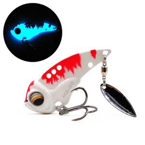 Mz55 vibrazione del metallo vibrazione Blade Lure 55mm 13g Sinking Vibratore Artificiale Bass Bait Pike Pesce persico Pesca
