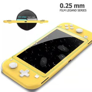 9H en verre trempé HD en verre anti-rayures Protection d'écran pour Nintendo Lite Commutateur 1500pcs / lot aucun paquet de détail