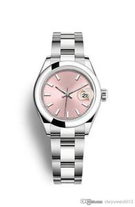 Мастер тщательно разработал последний горячий стиль тип журнала 28 мм автоматические механические водонепроницаемые женские часы из нержавеющей стали