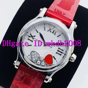 Las señoras de lujo NR Top Feliz Diamantes Mujer reloj Happy Sport reloj suizo 2892 para mujer relojes mecánicos automáticos Fecha de zafiro resistente al agua