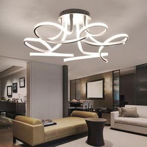 Moderna plafoniera a led arte fiore lampada led soffitto lampadario per soggiorno camera da letto camera da letto decorazione domestica lampada lampadari