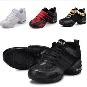 Malha Jazz Sapatos Mulher das senhoras Modern suave sola Sapatos de dança Sneakers para as Mulheres respirável leve Dança Academia Hip Hop Sneakers
