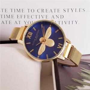 2020 년에는 고급 시계 브랜드 o 유명한 시계 패션 캐주얼 가죽 여자의 석영 시계 빈티지 시계 시계는 남자 Relogio
