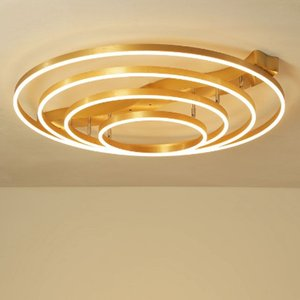 Luxe moderne lustre d'éclairage LED lustres d'or Scrub pour Luster salon Chambre cuisine salle de réunion LLFA