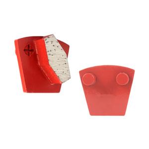 KD-P60 Two Pins Metal Bond Diamond Grinding Shoes Polishing Tools Concrete Grinding Pads for Concrete Terrazzo Floor 9PCS