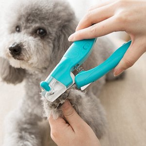 Pet Dog Cat Nail Clipper LED Light Electric Nail Claw Grooming Trimmer Safe Professional Set With Quick-Sensor Razor Sharp Blade
