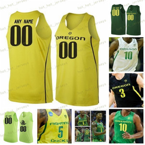 Individuelle Oregon Ducks 2020 Basketball Jersey 24 Dillon Brooks 3 Pritchard Payton 32 Anthony Mathis 10 Shakur Juiston 1 Bol 13 PAUL WEISS