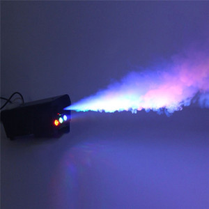 Fernbedienung LED500W Nebelmaschine bunt Sprayer Bühnenbeleuchtung Rauchgenerator Auto Sprayer Halloween Spezialeffekte
