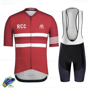 Bisiklet Jersey Raudax 2021 Pro Takım Newstyle RCC RX Kısa Kollu Bisiklet Giyim Kiti MTB Bisiklet Giyim Triatlon