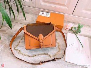 Designer's Single Shoulder Bag Women's Fashion Old-fashioned Double-sided Slant Bag