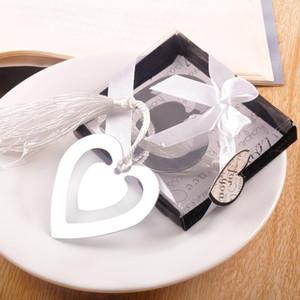 9 * 7 cm Metal Craft Creative Coeur de Fête Bookmark style romantique chinois favori mariage Valentine Day Party Invités Cadeaux