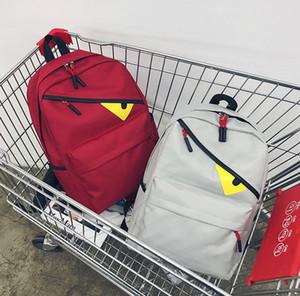 Дизайнер рюкзак мужской рюкзак роскошный мешок школы для женщин маленькие глаза новая мода прилив хип-хоп 5 цветов