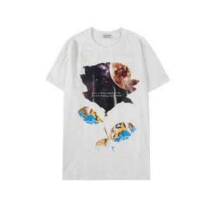 19ss Design Men Shirts Fashion Luxury Women T-shirt Summer Brand Top Tees Letter Printed Casual Mens Streetwear B102653K