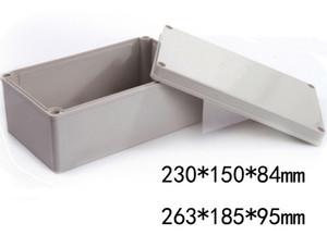كابل للماء ABS الالكترونية الضميمة مربع من البلاستيك المسمار مفرق حالة IP65