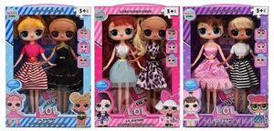 9 Polegada Com Aroma Frutado PVC Kawaii Crianças Brinquedos Anime Figuras de Ação Realista Reborn Bonecas Presente Para Meninas 3 Estilos 2 pçs / caixa L19022202