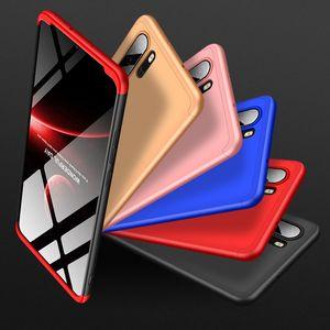 360 Funda protectora de teléfono para Huawei Y6 Prime Y6 Pro 2019 Disfrute de 9E p30 PRO Lite Nova 4E 3 en 1 cubierta de plástico duro mate