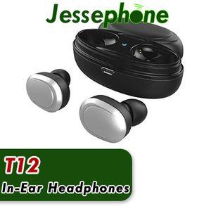 T12 TWS سماعات بلوتوث البسيطة بلوتوث V5.0 سماعة مزدوجة لاسلكية سماعات الأذن سماعات لاسلكية 10PCS DHL