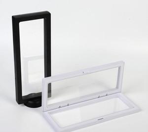 ANIMAL FAMILIER Accessoires Collier de bijoux Pendentif Emballage Boîte d'affichage 3D Bague Bijoux Porte-présentation Présentation Rack 9 * 23cm SN3065