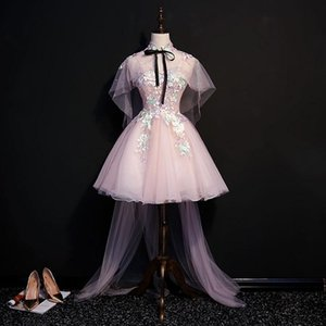 luxury embroidery flowers short lolita dress with long cloak cartoon carnival cosplay