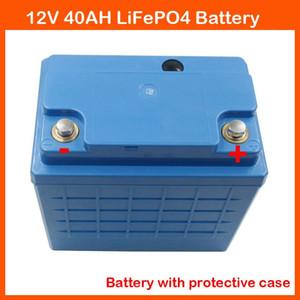 Con custodia protettiva 12V Batteria al litio 12V 40AH LiFePO4 per dispositivo audio EBike Lifepo4 / LFP con caricabatterie da 14,6 V 5A