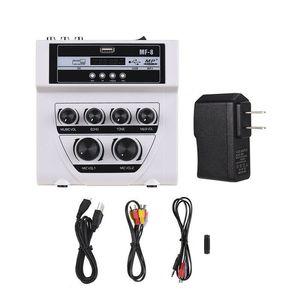 UK MF8 البسيطة المحمولة خالط الصوت مع USB DJ الصوت خلط تعزية للكاريوكي