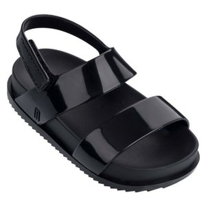 Mini Melissa Markalar Sandalet 2019 Yeni Kız Sandalet Melissa Çocuk Ayakkabı Plaj Sandalet İçin Kızlar 13cm-1cm Kaymaz