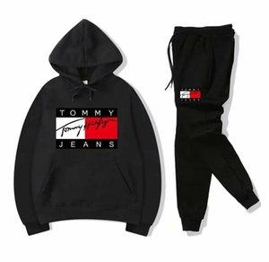 Les femmes et les hommes Vêtements Designer Hoodie Tom costume de sport occasionnel ou les femmes et Survêtements homme et ensemble pantalon Taille survêtement: S-3XL Adi-1S