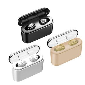 X8S TWS Earphone Mini Wireless Bluetooth 5.0 Headphones with Charging Box Portable Handsfree Earbuds 5 hours Working Time