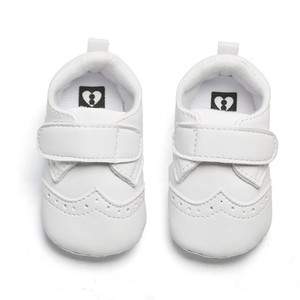0-12M Baby Girls First Walkers Shoes Infant Baby Boys Crib Shoes Soft Sole Newborn Kids Sneakers Prewalker