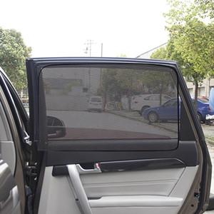 Magnetic Car Sun Shade UV Protection Car Curtain Window Sunshade Side Window Mesh Sun Visor Summer Protection Film