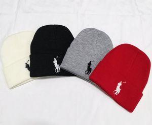berretto di lana polo sci golf a maglia Beanie inverno della protezione di modo ouHeadgear Copricapo capo Warmer Sci cappello caldo