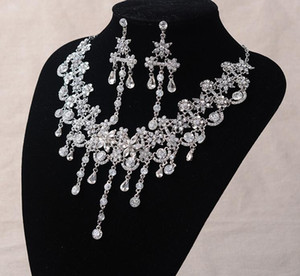 Wholesale wedding accessories Multi-functional alloy diamond necklace can be used as Hair Accessories,earring Dresses Accessories