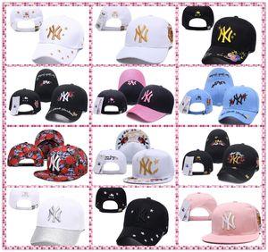 2020 Baseball Caps Nova Iorque clássico chapéu liso dos azuis marinhos Brim Embroiered ossos fechados cheios equipe ny fãs logotipo do basebol Chapéu de qualidade superior