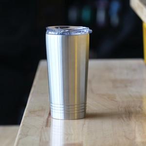 16 унций стакан с крышкой из нержавеющей стали стакан бутылка воды Пинта стакан вакуумной изоляцией кофе пиво Кубок классический кружка путешествия