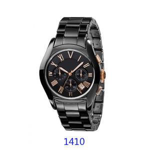 Nuovo Movimento al quarzo Watch Watches Mens di ceramica di lusso della vigilanza Donna AR1400 ar1401 AR1410 AR1411 AR1451 AR1403 AR1452 AR1417 del regalo della vigilanza AR1416