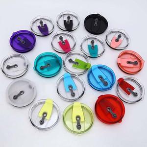 Pour 30oz 20 oz Coupe Seal Covers Effacer étanche de couleurs de remplacement Voitures preuve résistant à la bière Tasses couvercle